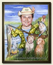 Поздравления с юбилеем охотник рыболов 39
