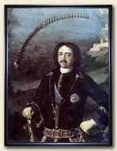 Луи Каравак Портрет Петра I 1716, холст, масло 142 х 105. Центральный военно-морской музей, Санкт-Петербург.