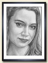 Женского портрета карандашом