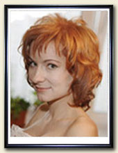 Женский портрет маслом на холсте в