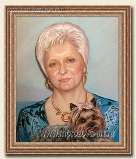 Дама с собачкой йоркширский терьер