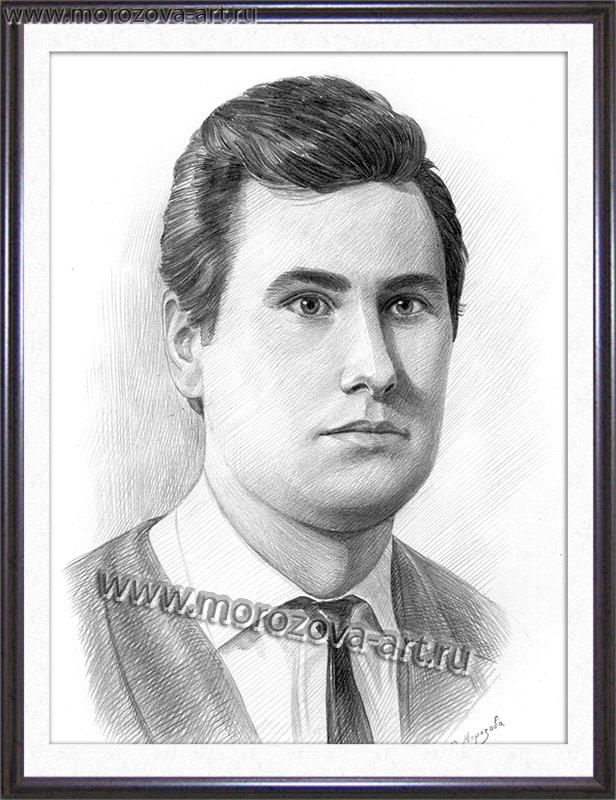 Рисунок карандашом рисуем портреты и