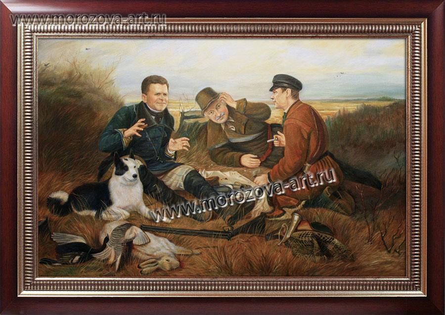 перов и его картина рыболов